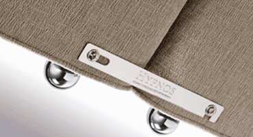 Hypnos Zipped Linked Bedden